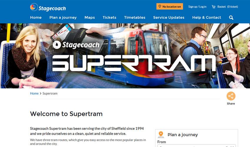 Sheffield Super Tram