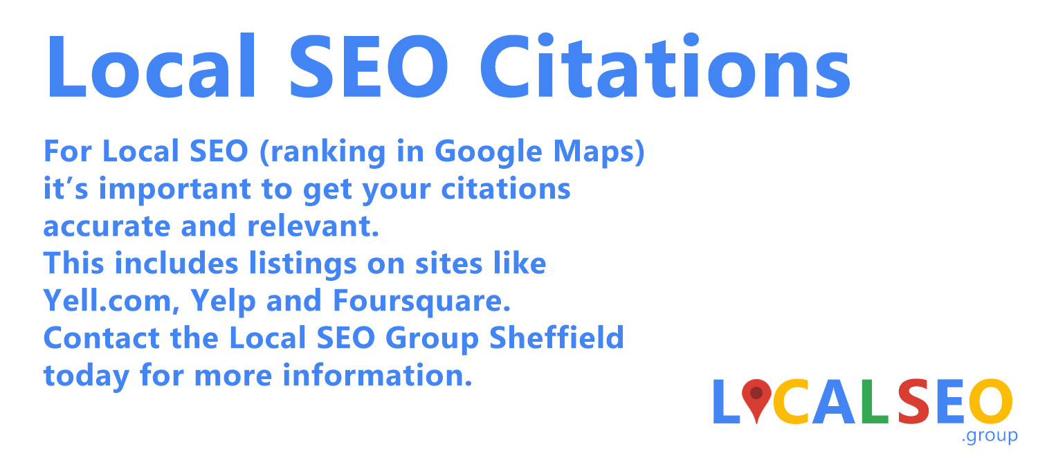Local SEO Citations Sheffield